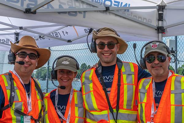 saison estivale drone - équipe Services Technologiques A.N.D.